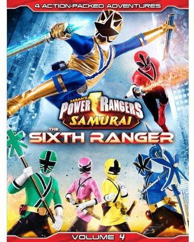 Power Rangers Samurai: The Sixth Ranger, Vol. 4