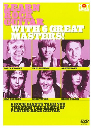 Learn Rock Guitar with 6 Great Masters