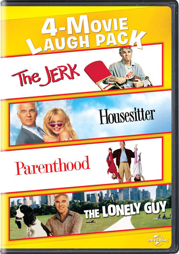 4-movie Laugh Pack: Jerk/ Housesitter/ Parenthood/ The Lonely Guy