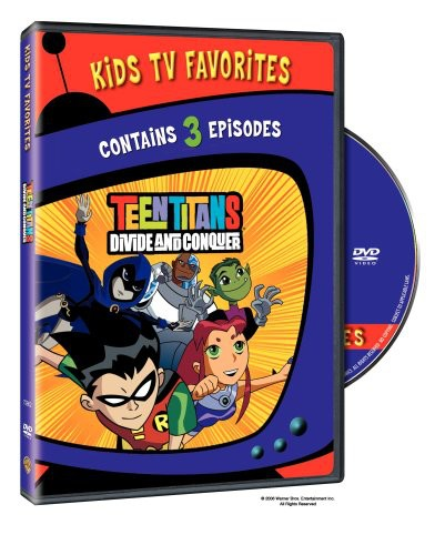 Teen Titans: Divide and Conquer #1 [Kids TV Favs] [Standard] [2 Episodes]
