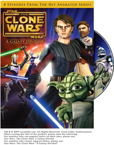 Star Wars: The Clone Wars - A Galaxy Divided [Widescreen]