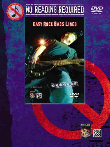 No Reading Required: Easy Rock Bass Lines [Instructional]