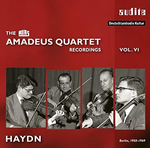Rias Amadeus Quartet Haydn Recordings Vol 6