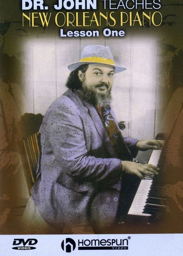 Dr John Teaches New Orleans Piano 1