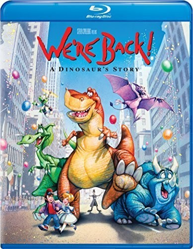 We're Back: A Dinosaur's Story