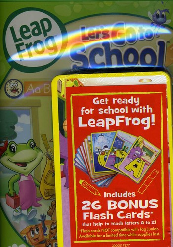 Leap Frog: Lets Go School, Vol. 2 [With Flash Cards]
