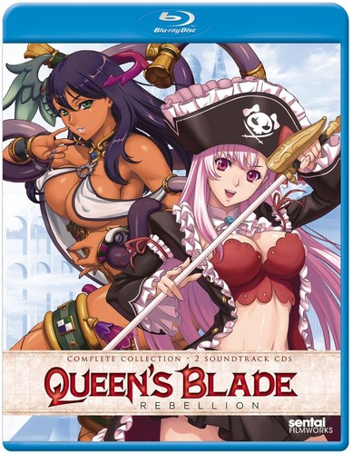 Queen's Blade Rebellion: Complete Collection