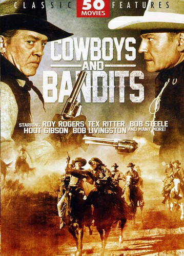 Cowboys and Bandits: 50 Movie Collection