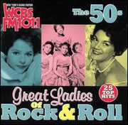WCBS FM101.1: Great Ladies Rock N Roll 50's /  Various