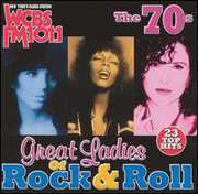 WCBS FM101.1: Great Ladies Rock N Roll 70's /  Various