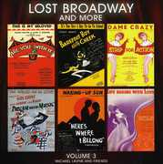 Lost Broadway and More, Vol. 3