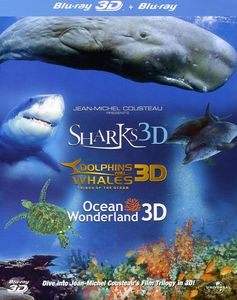 Jean-Michel Cousteau 3D Film Trilogy [Import]