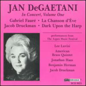Jan Degaetani in Concert 1