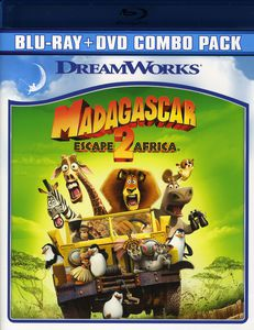 Madagascar: Escape 2 Africa [Widescreen] [Blu-ray/ DVD Combo]