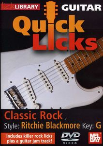 Quick Licks for Guitar: Style: Ritchie Blackmore