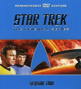 Star Trek: The Original Series - Season Two Remastered [Full Frame] [8Discs] [Hard Plastic Molded Collectible Case] [Sensormatic]