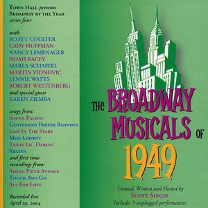 Broadway Musicals of 1949 /  O.C.R.