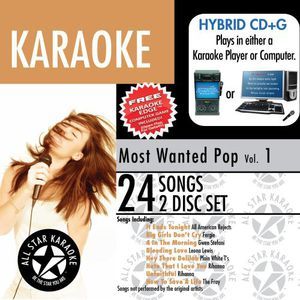 Karaoke: Most Wanted Pop