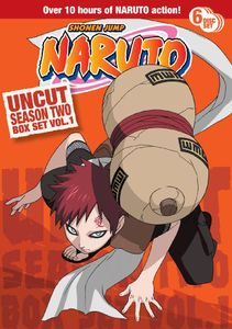 Naruto Uncut Season 2: Volume 1 Box Set