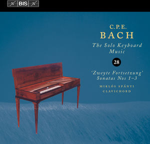 C.P.E. Bach Solo Keyboard Music 28