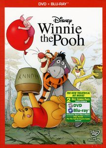 Winnie The Pooh Movie [WS] [2 Discs] [DVD/ Blu-ray Combo] [O-Sleeve]