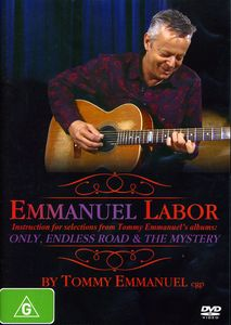 Tommy Emmanuel-Emmanuel Labor (Pal/ Region 0) [Import]