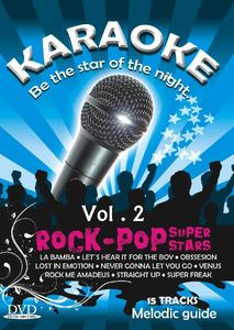 Karaoke: Rock-pop Super Stars: Volume 2