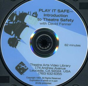 Play It Safe - Introduction to Theatre Safety