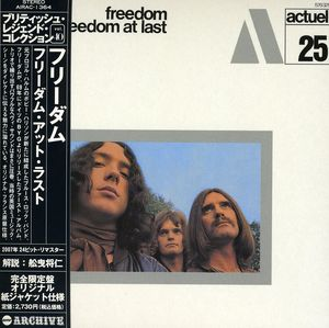 Freedom at Last [Import]