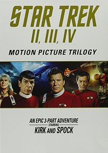 Star Trek: Motion Picture Trilogy II, III, IV