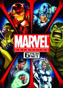 Marvel Animation Set [6 Discs] [Full Frame] [Widescreen]