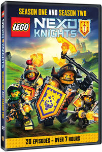 LEGO Nexo Knights: Season 1 And Season 2