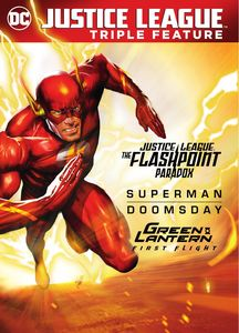 Justice League: Flashpoint Paradox/ Superman Doomsday/ Green Lantern:First Fligh