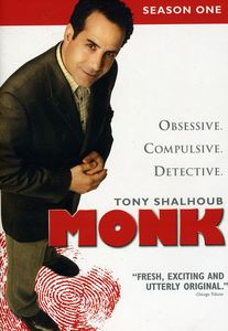 Monk: Season One [Widescreen] [4 Discs] [Repackaged] [Slim Pack]
