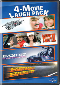 4-movie Laugh Pack: Smokey and The Bandit/ Smokey and The Bandit II/ Bandit Goes Country/ Bandit, Bandit