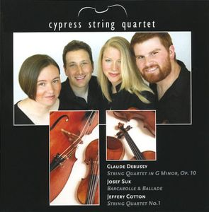 Cypress String Quartet: Debussy Suk Cotton
