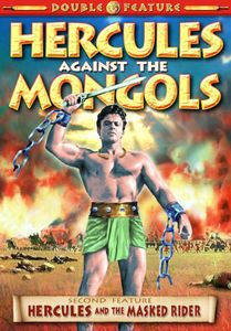 Hercules Against The Mongols/ Hercules and The Masked Rider [TV Show]