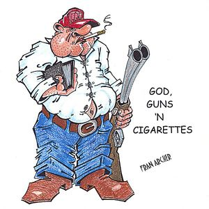 God Guns 'N Cigarettes