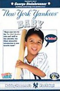 NY Yankee Baby & Johnny Damon Topps Baby Card