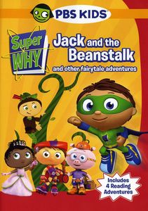 Super Why: Jack & Beanstalk & Other Story Book