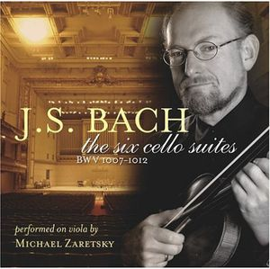 J.S.Bach the Six Cello Suites Performed on Viola