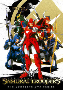 Samurai Troopers (Ronin Warriors) Complete Ova