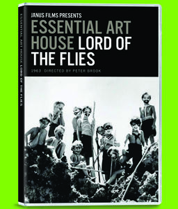 Criterion Collection: Lord Of The Flies