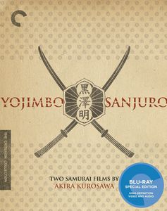 Criterion Collection: Yojimbo and Sanjuro: Two Films By Akira Kurosawa[2 Discs] [Subtitled] [WS] [B&W]