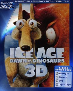 Ice Age 3: Dawn Of The Dinosaurs [3D] [WS] [3D Blu-ray/ Blu-ray/ DVD/ Digital Copy Combo] [4 Discs]