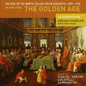 Rise of North Italian Violin Concerto 3: Golden