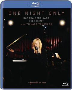 One Night Only: Barbra Streisand & Quartet at the Village Vanguard