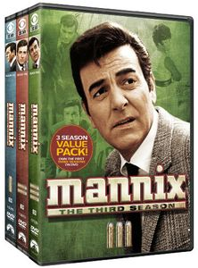 Mannix: Three Season Pack [Full Frame] [18 Discs]