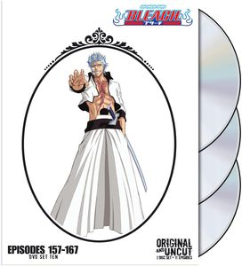 Bleach Uncut Box Set, Vol. 10 [Full Frame] [3 Discs] [Slim Pack] [Slipcase]