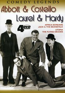 Abbott and Costello/ Laurel and Hardy [4 Discs]